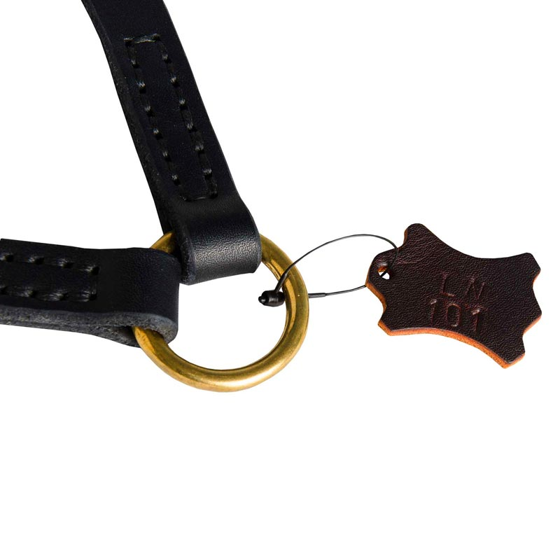 Dog Leather Coupler with Rust-proof O-ring