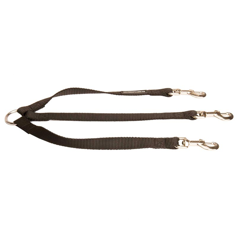 Triple Nylon Leash for Walking 3 Dog Dogs