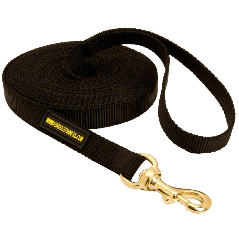 Tracking Extra Long Nylon Dog Leash